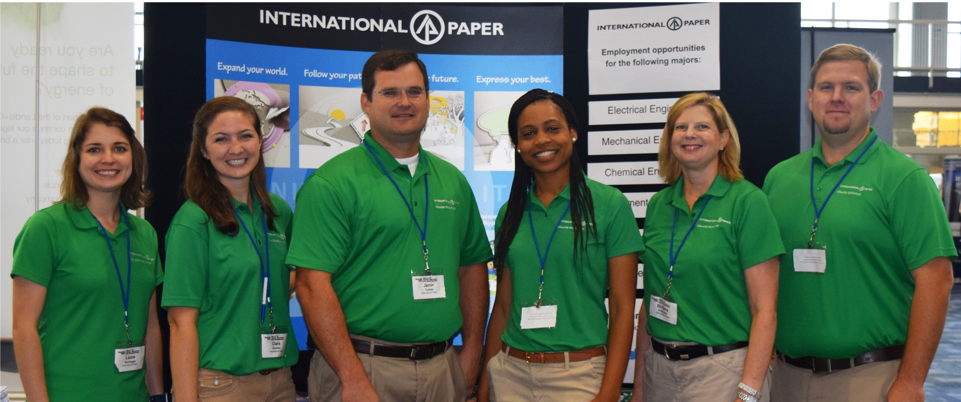 International Paper Campus Recruiting