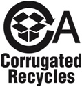 Corrugated Recycles logo