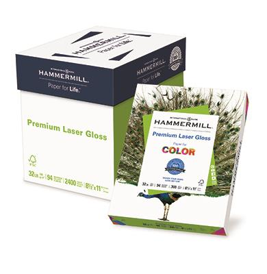 Hammermill Color Laser Gloss Carton & Ream