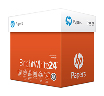 HP Papers BrightWhite24™ Product Image 2