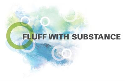 Fluff with Substance blue